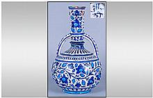 Turkish Otterman Style Early 20th Century Vase,