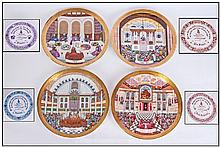 Royal Doulton Set Of Four Celebration Of Faith