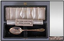 Presentation Boxed Sterling Silver Spoon