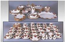 Royal Albert Old Country Rose Part Dinner And Tea