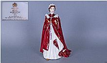 Royal Worcester Figure Queen Elizabeth II, The