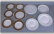 Set of Minton ' Grandee ' Sandwich Set, Comprising