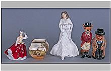 A Small Collection Of Royal Doulton, 5 Items In