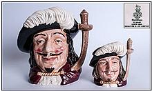 Royal Doulton Character Jugs, 2 In Total. 1,