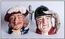 Royal Doulton Character Jugs 1. Gone Away D6531