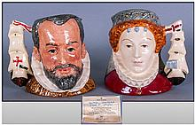 Royal Doulton Limited Edition Pair Of Character