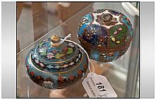 Early 20th Century Eastern Cloisonne Enamel