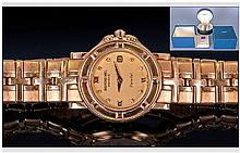 Raymond Weil Parsifal 18ct Gold Cased Date Just