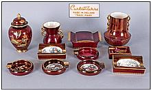 Collection Of Carlton Ware 'Rouge Royale' Pieces