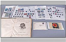 Small Collection Of Ephemera. Comprising part
