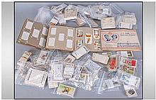 Quantity Of Cigarette And Tea Cards.