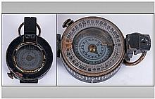 Military War Department Officers Pocket Compass,