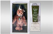 Steiff Boxed Musical Bear Limited Edition of 2000