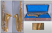 Weltklang Solist Brass Saxophone, Marked