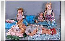 Collection of Mid 20th Century Dolls comprising an