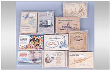 A Collection Of 11 Cigarette Card Albums