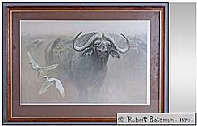 Robert Bateman 'Water Buffalo' Limited Edition