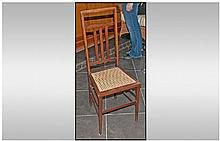 Edwardian Mahogany Inlaid Single Chair with a