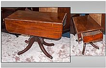 An Early William VI Mahogany Drop Leaf Breakfast/