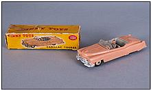 Dinky Toys - Pink Cadillac Tourer In Original Box.