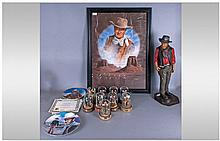 John Wayne Wild West Interest comprising 10 John
