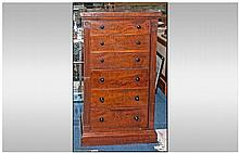 Gillows of Lancaster Victorian Mahogany Wellington