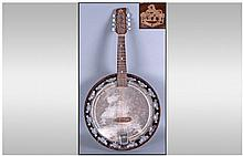 G.H & S Banjo. British made.