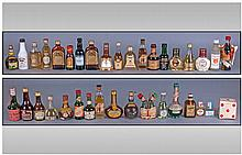 Quantity of Assorted Miniature Alcohol Bottles