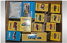 Collection Of Die Cast ''Corgi Classics'' Model