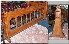 Gothic Style Bruce Talbert Design Church Rail,