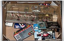 Collection of Car Toys including Burago, Silver