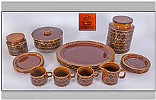 Hornsea Pottery Part Dinner Service the pattern is