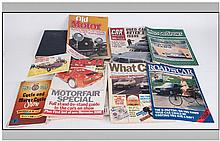 Motoring Interest. Collection of various magazines