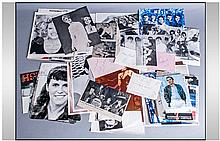 Pop Autographs. A fantastic collection of stars on