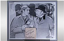 Sherlock Holmes, Autographs Of Basil Rathbone And