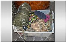 Large Collection of SAS Uniforms, Tent, Water