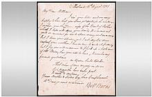 Victorian Copy of a 'Robert Burns' Letter, a