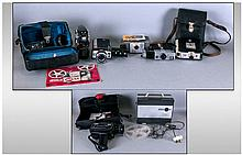 Collection of Camera's/ Movie makers- includes