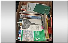 Quantity Of Paperback And Hardback Books & Maps,