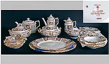 Royal Crown Derby Fine Bone China 112 Piece Tea/Di