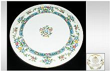 Royal Worcester Boxed Cake Plate, 'Mayfield' Patte