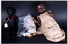 Black Girl Doll in a felt material, together with