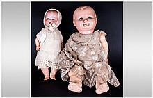 1930's Celluloid Body Baby Doll, together with a G