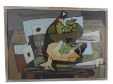 GEORGES BRACQUE - Vintage Still Life Print on Board