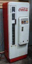 Cavalier Coca-Cola  machine, side door,