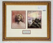 Kinkade Print- Jesus & the Cross