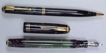 Emerald Pearl Parker Vacumatic Standard Size Pen & Pencil Set