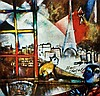 Marc Chagall  Paris Through the Window  Print