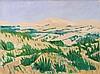 Mark David Gottsegen (1948-2013) Rockey's Ridge 7/10, Acrylic on canvas.