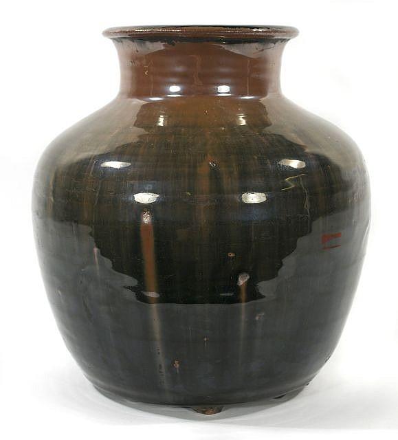 A Chinese Henan Ware Style Pottery Jar.